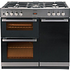 more details on Belling DB490DFT Double Dual Fuel Range Cooker - S Steel