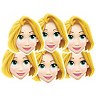 more details on Disney Princess Rapunzel Pack of 6 Masks.