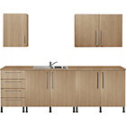 more details on Valencia 5 Piece Kitchen Unit Package - Oak Effect.