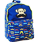 more details on Paul Frank Julius Mobkry Moustache Backpack - Navy.