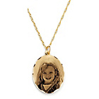 more details on 9ct Gold Precious Portraits Holographic Pendant.