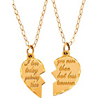 more details on 9ct Gold Engraved Pendant Set.