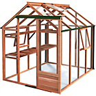 more details on Growhouse Classic Cedar Greenhouse - 6 x 8ft.