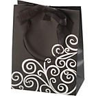 more details on Small Black Swirl Gift Bag.