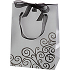 more details on Medium Black Swirl Gift Bag.
