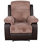 more details on Bradley Fabric Recliner Chair - Natural.