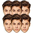 more details on Bravado Justin Bieber Pack of 6 Masks.