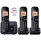 more details on Panasonic KXTGC223E Telephone/Answer M/c. - Triple.