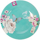 more details on Accessorize Set of 4 Blue Cake Plates.