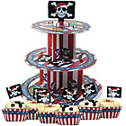 more details on Pirate Cup Cake Kit and 3 Tier Stand.
