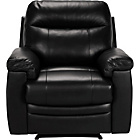 more details on Collection New Paolo Leather Recliner Chair - Black.
