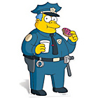 more details on The Simpsons Police Chief Wiggum Life-Sized Cutout.