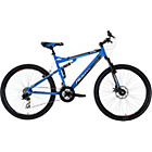 more details on Falcon Atom 26 Inch Alloy FS Mountain Bike - Mens.