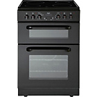 more details on Bush BEDC60B Double Electric Cooker - Black/Ins/Del/Rec.