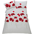 more details on Poppies Red Bedding Set - Double.