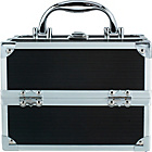 more details on Pretty Pink Small Black Aluminium Vanity Case.