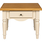 more details on Heart of House Elsanne 1 Drawer End Table - Solid Pine.