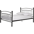 more details on Eastleigh Kingsize Bed Frame - Pewter.