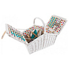 more details on Beau and Elliot Confetti 4 Person Wicker Picnic Basket.
