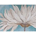 more details on Heart of House Daisy Teal Painted Canvas.