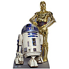 more details on Star Wars R2-D2 and C3P-O Life-Sized Cutout.