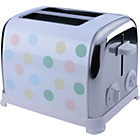 Kitchen Originals Pastel Spot 2 Slice Toaster by Kalorik