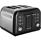 more details on Morphy Richards 242002 Accents 4 Slice Toaster - Black.