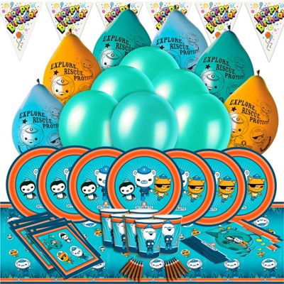 Cbeebies Octonauts Deluxe Party Kit for 16