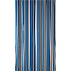 more details on Heart of House Luxury Stripe Shower Curtain - Blue.