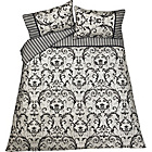 more details on Heart of House Antoinette Black Bedding Set - Double.