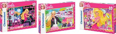 Clementoni Barbie 458 Piece Bundle Pack Jigsaw Puzzle