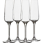 more details on Heart of House Moda 4 Piece Champagne Flute Set.