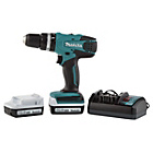 more details on Makita Cordless Hammer Drill with 2 Batteries - 14.4V.