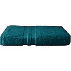 more details on Heart of House Egyptian Single Bath Sheet - Teal.