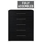 more details on Heart of House Elford 5 Drawer Chest - Black.