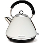 more details on Morphy Richards 102005 Accents Pyramid Kettle - White.
