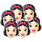 more details on Disney Princess Snow White Pack of 6 Masks.