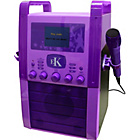 more details on Easy Karaoke EKS515 Karaoke Machine with Screen - Purple.