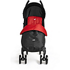more details on Joie Nitro Pushchair with Footmuff - Black and Red.