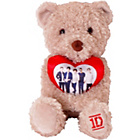 more details on One Direction Bear Holding Heart.