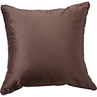 more details on Heart of House Ava Faux Silk Cushion - Mocha.
