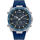 more details on Lorus Men's Blue Strap Sports Watch.