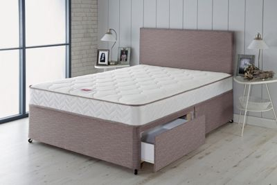 Airsprung Alana Memory Small Double 2 Drawer Divan Bed
