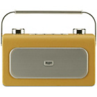 more details on Bush Classic Leather DAB/FM Radio - Mustard.