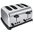more details on Cookworks 4 Slice Toaster - Stainless Steel.