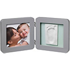 more details on Baby Art My Baby Touch Print Frame - Grey.