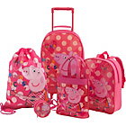 Peppa Pig 5 Piece Luggage Set