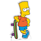 more details on The Simpsons Bart Simpson Life-Sized Cutout.