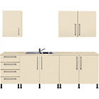 more details on Valencia 5 Piece Kitchen Unit Package - Cream.