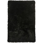 more details on Heart of House Bliss Deep Pile Shaggy Rug 170x110cm - Black.